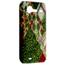Christmas Quilt Background HTC Incredible S Hardshell Case  View2