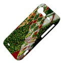 Christmas Quilt Background HTC Incredible S Hardshell Case  View4