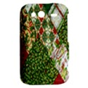 Christmas Quilt Background HTC Wildfire S A510e Hardshell Case View2