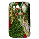 Christmas Quilt Background HTC Wildfire S A510e Hardshell Case View3