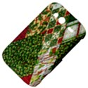 Christmas Quilt Background HTC Wildfire S A510e Hardshell Case View4