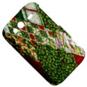 Christmas Quilt Background HTC Wildfire S A510e Hardshell Case View5