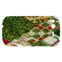 Christmas Quilt Background HTC Desire S Hardshell Case View1