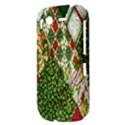 Christmas Quilt Background HTC Desire S Hardshell Case View3