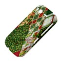 Christmas Quilt Background HTC Desire S Hardshell Case View4