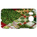 Christmas Quilt Background HTC Desire HD Hardshell Case  View1