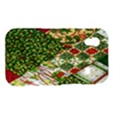 Christmas Quilt Background Samsung Galaxy Ace S5830 Hardshell Case  View1