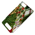 Christmas Quilt Background Motorola DROID X2 View4