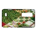 Christmas Quilt Background LG Optimus Thrill 4G P925 View1