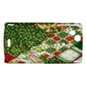 Christmas Quilt Background Sony Xperia Arc View1
