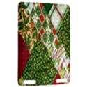 Christmas Quilt Background Kindle Touch 3G View2