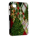 Christmas Quilt Background Samsung Galaxy Tab 7  P1000 Hardshell Case  View2