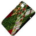 Christmas Quilt Background Samsung Galaxy Tab 7  P1000 Hardshell Case  View4
