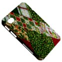 Christmas Quilt Background Samsung Galaxy Tab 7  P1000 Hardshell Case  View5