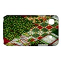 Christmas Quilt Background Samsung Galaxy SL i9003 Hardshell Case View1