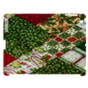 Christmas Quilt Background Apple iPad 3/4 Hardshell Case (Compatible with Smart Cover) View1