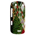 Christmas Quilt Background BlackBerry Curve 9380 View2