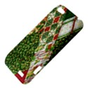 Christmas Quilt Background HTC One V Hardshell Case View4
