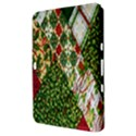 Christmas Quilt Background Samsung Galaxy Tab 8.9  P7300 Hardshell Case  View3