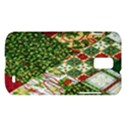 Christmas Quilt Background Samsung Galaxy S II Skyrocket Hardshell Case View1