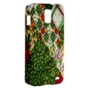 Christmas Quilt Background Samsung Galaxy S II Skyrocket Hardshell Case View2