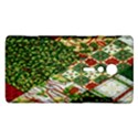Christmas Quilt Background Sony Xperia ion View1