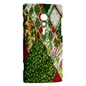 Christmas Quilt Background Sony Xperia ion View2