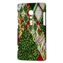 Christmas Quilt Background Sony Xperia ion View3