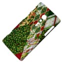 Christmas Quilt Background Sony Xperia ion View4