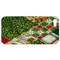 Christmas Quilt Background Apple iPhone 5 Hardshell Case View1