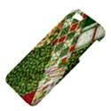 Christmas Quilt Background Apple iPhone 5 Hardshell Case View4