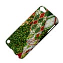 Christmas Quilt Background Apple iPod Touch 5 Hardshell Case View4
