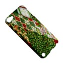 Christmas Quilt Background Apple iPod Touch 5 Hardshell Case View5