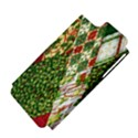 Christmas Quilt Background Apple iPhone 5 Hardshell Case (PC+Silicone) View4
