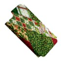 Christmas Quilt Background Apple iPhone 5 Hardshell Case (PC+Silicone) View5