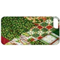 Christmas Quilt Background Apple iPhone 5 Classic Hardshell Case View1