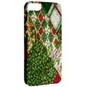Christmas Quilt Background Apple iPhone 5 Classic Hardshell Case View2