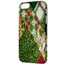 Christmas Quilt Background Apple iPhone 5 Classic Hardshell Case View3