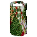 Christmas Quilt Background Samsung Galaxy S III Hardshell Case (PC+Silicone) View3