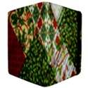 Christmas Quilt Background Apple iPad 2 Flip Case View4