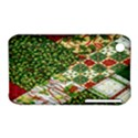 Christmas Quilt Background Apple iPhone 3G/3GS Hardshell Case (PC+Silicone) View1