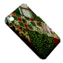 Christmas Quilt Background Apple iPhone 3G/3GS Hardshell Case (PC+Silicone) View5