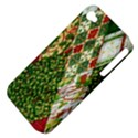 Christmas Quilt Background Apple iPhone 4/4S Hardshell Case (PC+Silicone) View4