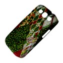 Christmas Quilt Background Samsung Galaxy S III Classic Hardshell Case (PC+Silicone) View4