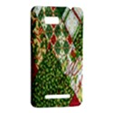 Christmas Quilt Background HTC One SU T528W Hardshell Case View2