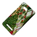 Christmas Quilt Background HTC One SU T528W Hardshell Case View4