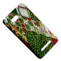 Christmas Quilt Background HTC One SU T528W Hardshell Case View5