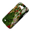 Christmas Quilt Background Samsung Galaxy Premier I9260 Hardshell Case View4