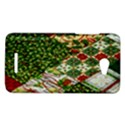 Christmas Quilt Background HTC Butterfly X920E Hardshell Case View1