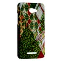 Christmas Quilt Background HTC Butterfly X920E Hardshell Case View2